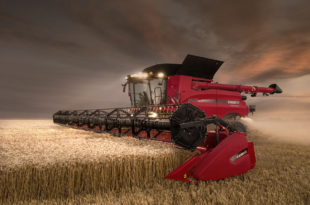 See the world largest grain harvesters