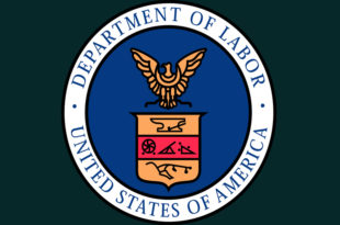 U.S. Department of Labor's notice