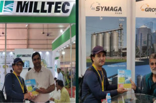 Grain Feed & Milling Magazine displayed at Indian Rice Tech Expo