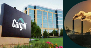 Cargill's goal is to reduce greenhouse gas emissions
