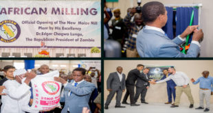 Caption news on African Maize mill