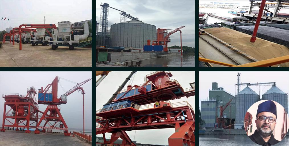 Caption news on XLM Ship Unloader