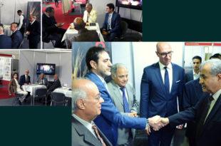 Caption news on a pleasure meeting at the 'Grain Tech Egypt 2020'