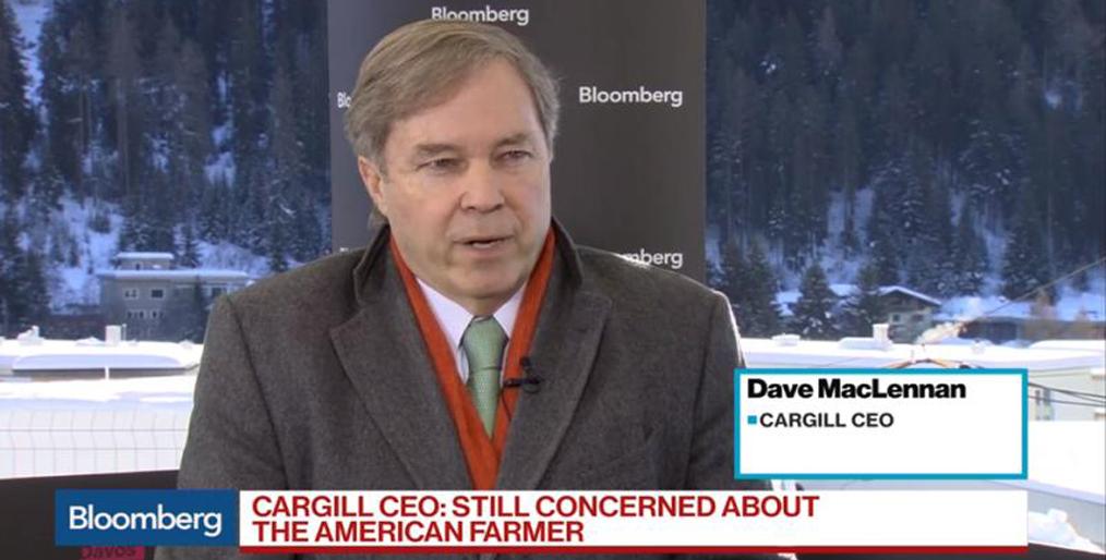 Caption News on the Speech of Cargill CEO