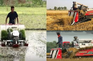Technology-dependent agriculture is demanding today