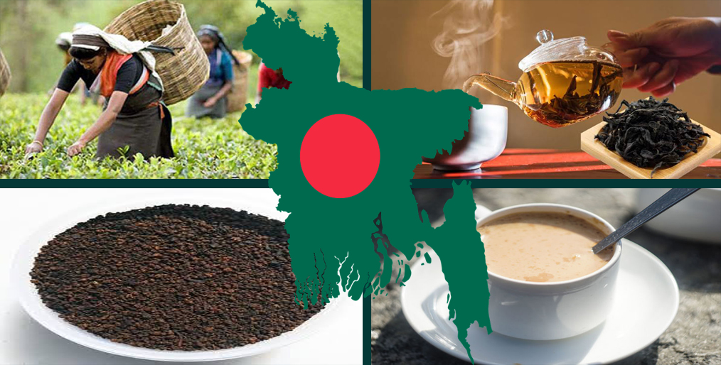 Bangladesh has a high record of tea production