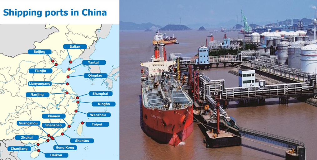 Commodities coming from China are low, impact on production