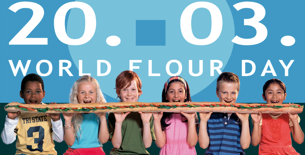 March 20 is World Flour Day
