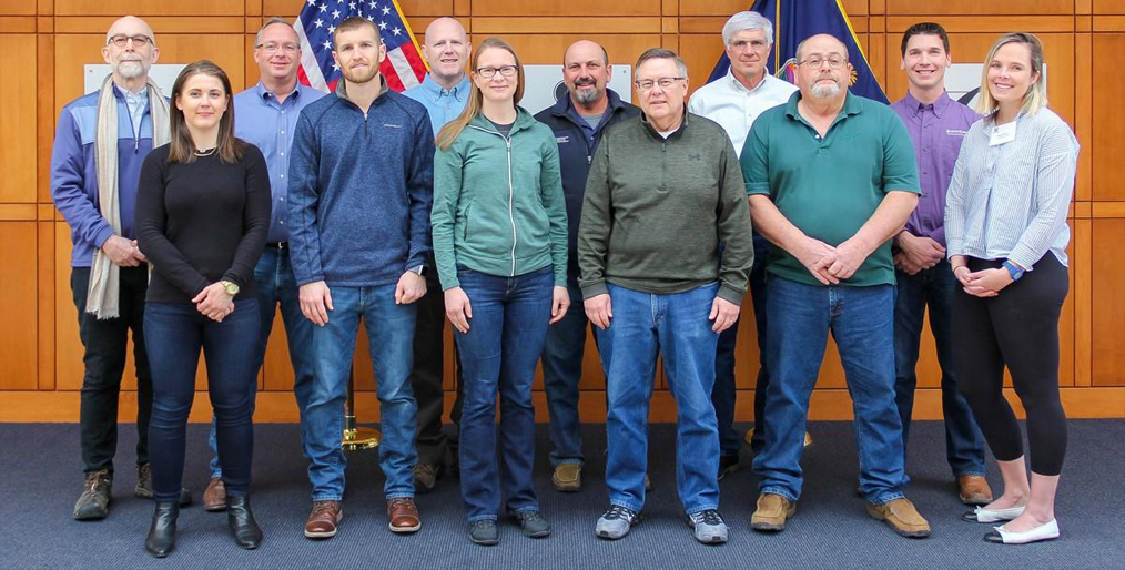 Caption news on State Wheat Commissioners course
