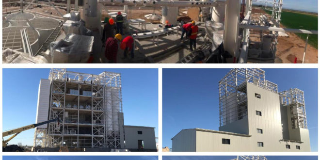 Caption news on UGUR's Turnkey Semolina Mill Plant in Mexico