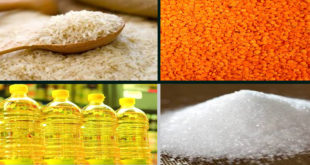 Rice, pulses, oils and sugar prices rise