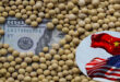 Soybeans falls from near 3-month high
