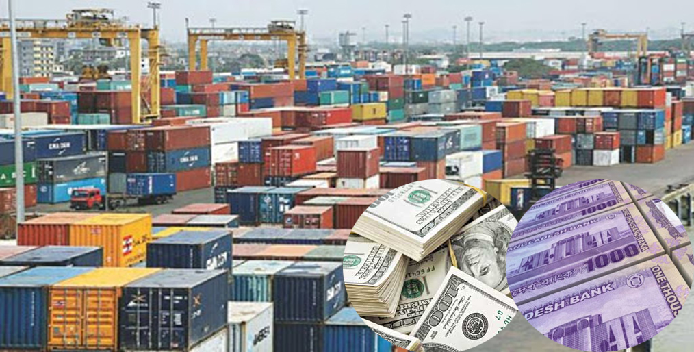 Trade deficit in eight months was Tk. 92,000 crore
