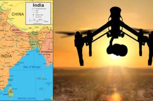 Eye drones for night duty in locust fighting in India