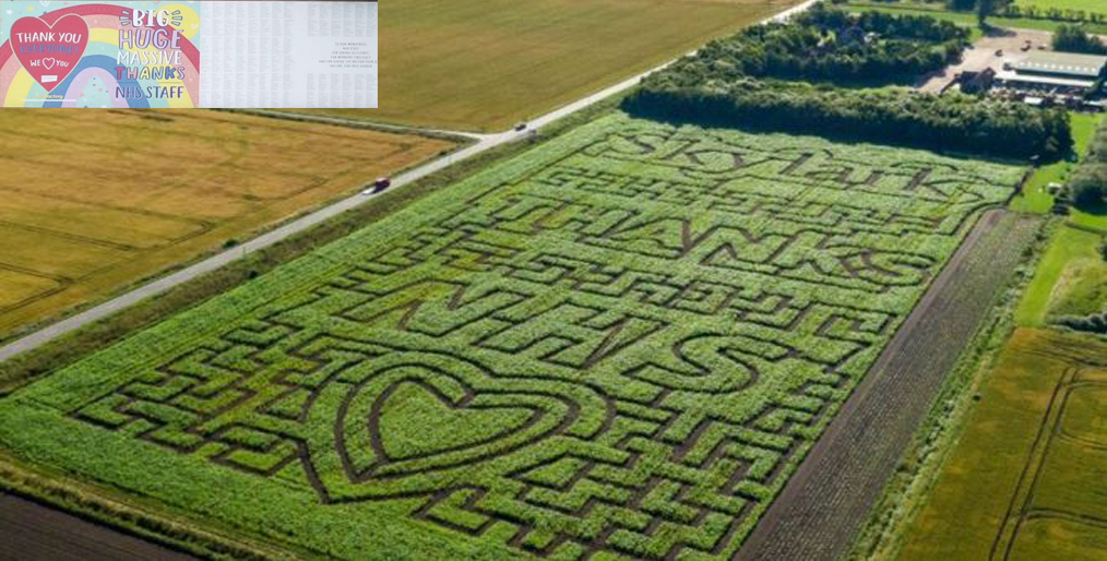 A special tribute to a farmer in Cambridgeshire