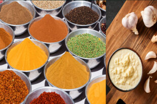 Prices of various spices including ginger and garlic have come down