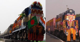 Record of freight trains running between Bangladesh and India