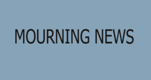 MOURNING NEWS