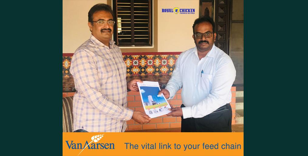 Largest Feed mill in Tamil Nadu India will be build by Van Aarsen International