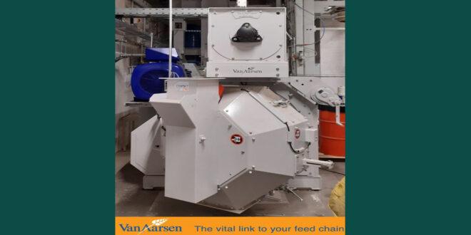 Van Aarsen has installed another pelting line for spelt mills in Germany