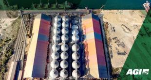 Caption news on the Evrovneshtorg (EVT) Grain Port Terminal of Ukraine