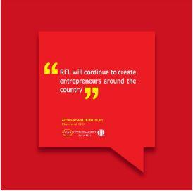 Caption News on new entrepreneurs through RFL's business practice