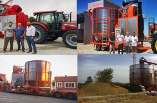 Our grain dryers are consists of powerful and reliable models which ensure daily output varying from 85 to 155 t-Multigrain