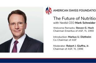 Caption News on the American Swiss Foundation's Thanksgiving to the CEO of Nestlé