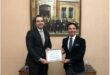 Caption news on the membership certificate to the Turkish Ukrainian Businessmen Association of Erkaya company