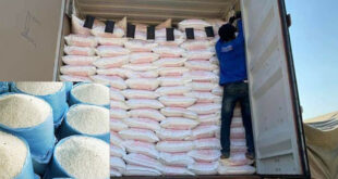Cambodia exported more than 150,000 tons of milled rice in the first 3 months of 2021