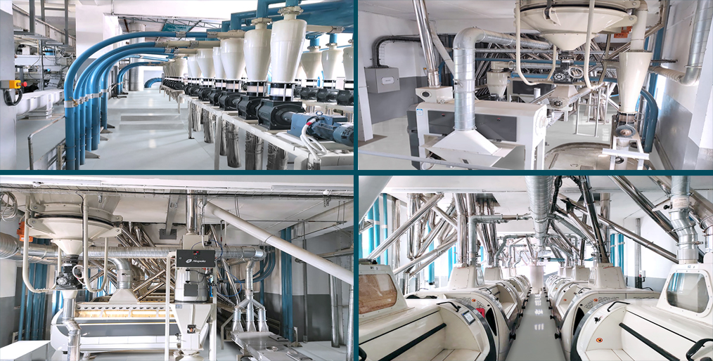 Alapala completed the 'mill renovation project' for Kodandaram Flour Mills