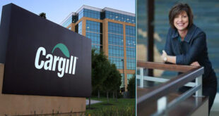 Caption news on the new president of Cargill's Animal Nutrition & Health