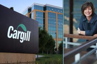 Caption news on the new president of Cargill's Animal Nutrition & Health