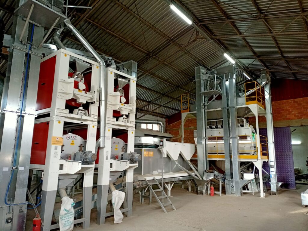 ORGANIC PULSES- SESAME SEED-WALNUT- Cleaning processing Lines From Turkey – Mersin