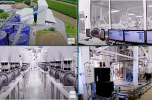Caption News on Alapala's new reference flour mill project in Serbia