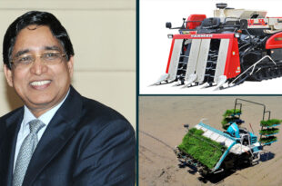 Farmers are getting agricultural machinery worth Tk 3,000 crore as an incentive