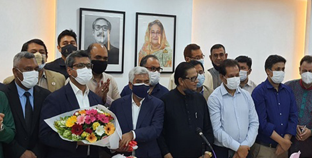 Mr. Jashim Uddin, a vice-president of Bengal Group elected as president of FBCCI