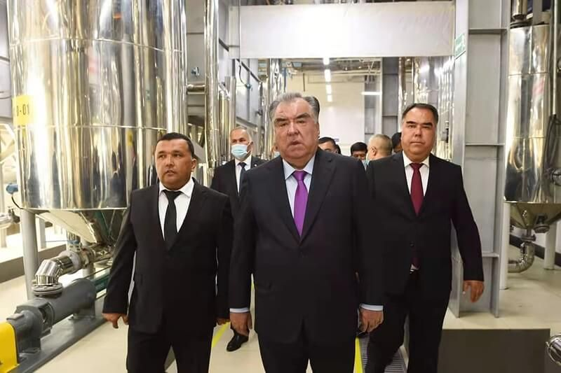 Opening Ceremony of Tajikistan Edible Oil Refinery Plant supplied by Myande Group