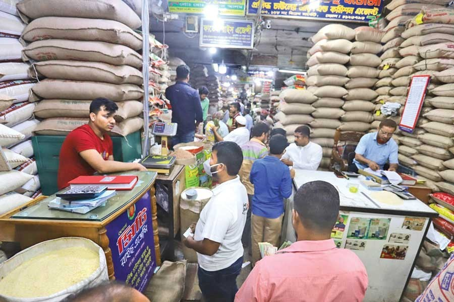 Rice prices are rising despite bumper yields of rice in the country