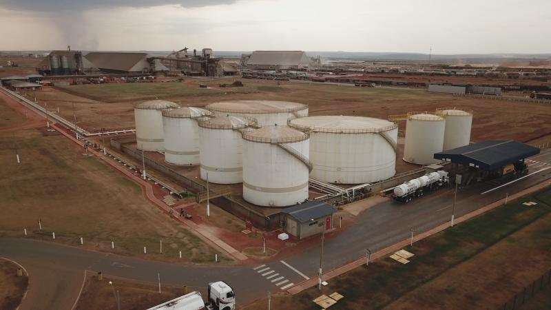 COFCO International is starting construction of Brazil's first biodiesel pipeline