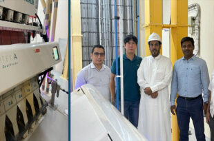 Buhler's participation in the first optical selection solution in the milling sector in Saudi is positive