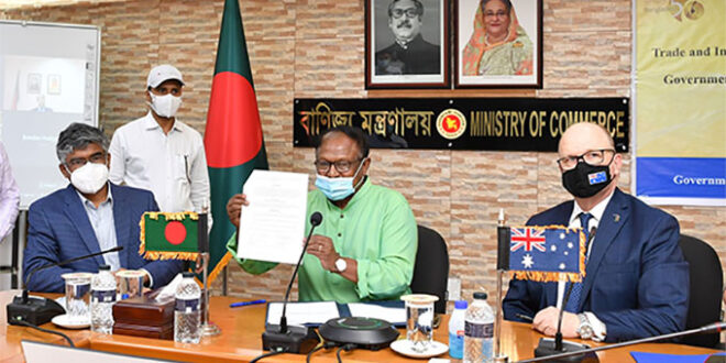 Like the United States, Bangladesh has signed trade and investment agreements with Australia
