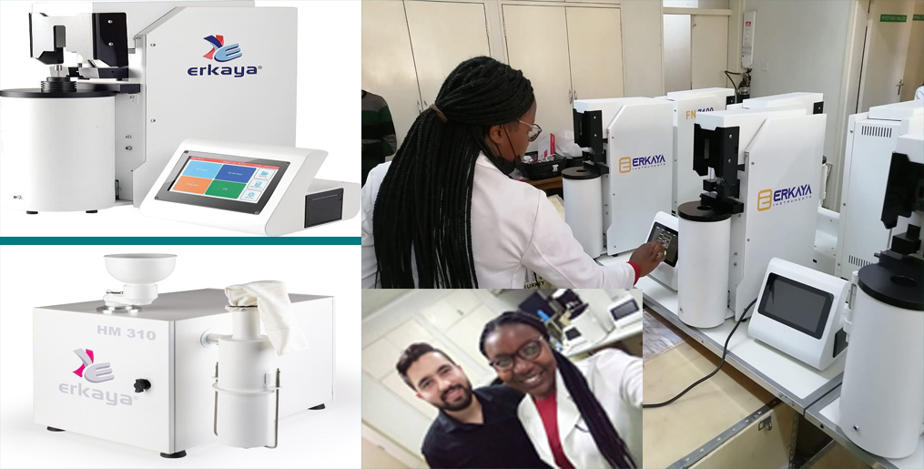 Erkaya won another international tender proving the best and successfully installed 30 sets of laboratory in Zimbabwe