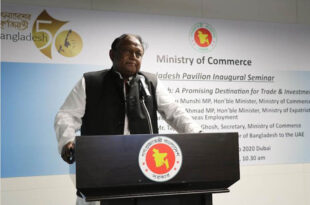 Inauguration of pavilion at Dubai Expo, Commerce Minister asked expatriates to invest