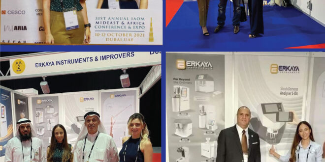 Caption News on the participation of Erkaya in the IAOM-MEA expo in Dubai